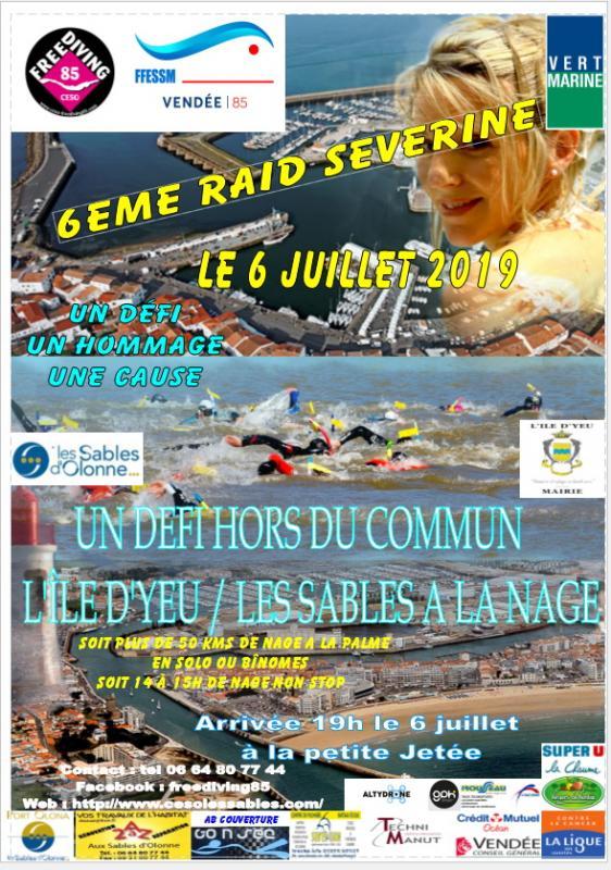 Affiche raid severine 2019